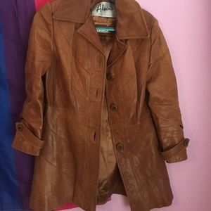 Alvin's/Skin Gear leather jacket small